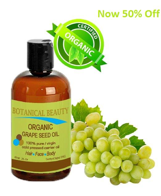 Grapeseed oil skin
